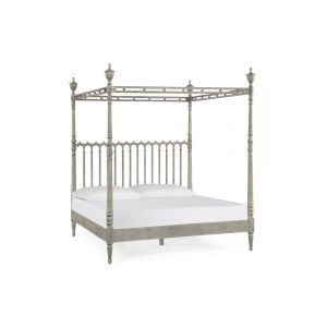 Jonathan Charles Fine Furniture - William Yeoward Country House Chic Morris' Grey Oak US King Bed - 530090-USK-GYO