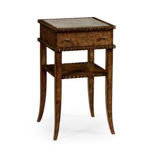 Jonathan Charles Fine Furniture - William Yeoward Urban Cool Huxley Burl Night Table - 530065-BUS