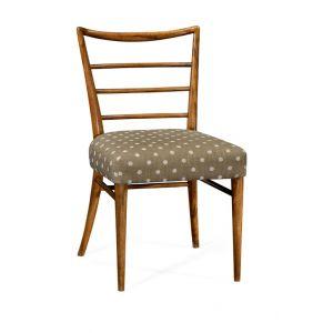 Jonathan Charles Fine Furniture - William Yeoward Urban Cool Pensacola Grey Fruitwood Dining Side Chair - 530143-SC-GFA