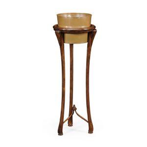 Jonathan Charles Fine Furniture - Windsor Tall Walnut Planter - 492910-45H-WAL