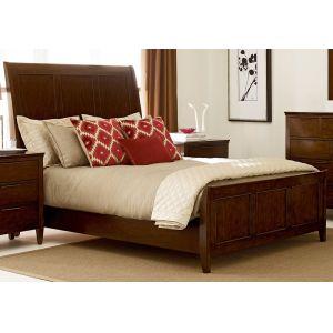 Kincaid Furniture - Elise Caris Sleigh Bed Queen - 77-135P