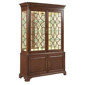 Kincaid Furniture - Hadleigh China Cabinet - Complete - 607-830P