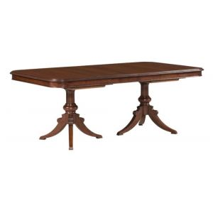 Kincaid Furniture - Hadleigh Double Pedestal Dining Table - Complete - 607-744P
