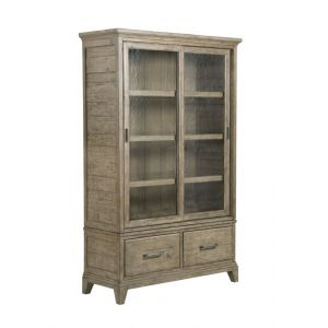 Kincaid Furniture - Plank Road Darby Display Cabinet - Complete - 706-830SP
