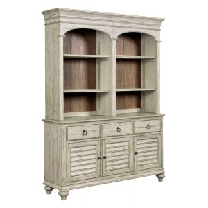 Kincaid Furniture - Weatherford Cornsilk Hastings Open Hutch & Buffet - 75-079P