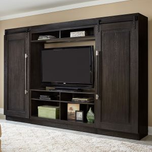 Liberty Furniture - Abbey Entertainment Center with Piers - 328-ENTW-ECP
