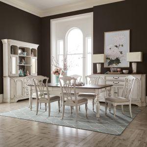 Liberty Furniture - Abbey Road 7 Piece Rectangular Table Set - 455W-DR-7RLS