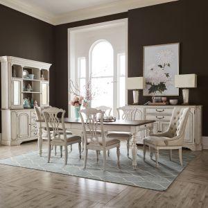 Liberty Furniture - Abbey Road Optional 7 Piece Rectangular Table Set - 455W-DR-O7RLS