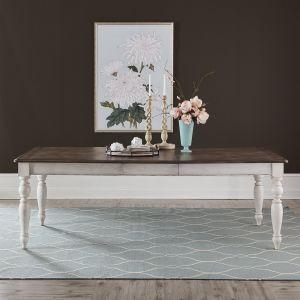 Liberty Furniture - Abbey Road Rectangular Leg Table - 455W-T4090