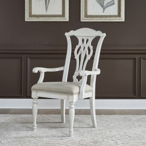 Liberty Furniture - Abbey Road Splat Back Arm Chair (RTA) - 455W-C2501A