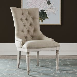 Liberty Furniture - Abbey Road Uph Side Chair (RTA) - 455W-C6501S