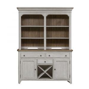 Liberty Furniture - Farmhouse Reimagined Buffet & Hutch - 652-DR-HB