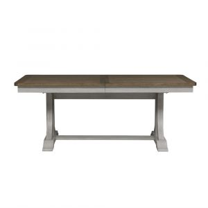 Liberty Furniture - Farmhouse Reimagined Trestle Table - 652-P4096_652-T4096