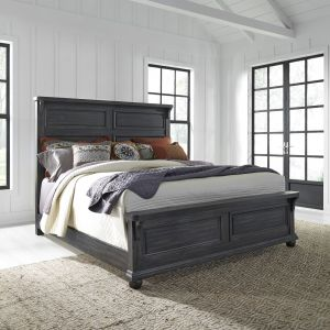 Liberty Furniture - Harvest Home California King Panel Bed - 879-BR-CPB