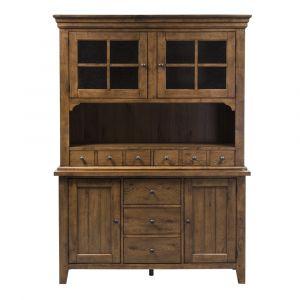 Liberty Furniture - Hearthstone Buffet & Hutch - 382-DR-HB