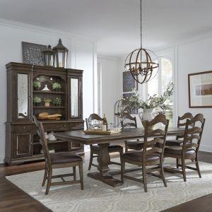 Liberty Furniture - Homestead 7 Piece Trestle Table Set - 693-DR-7TRS