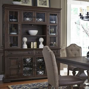 Liberty Furniture - Lucca Buffet & Hutch - 535-DR-HB