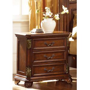 Liberty Furniture - Messina Estates 3 Drawer Night Stand - 737-BR61