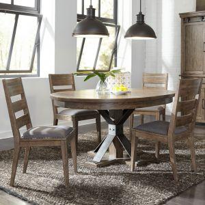 Liberty Furniture - Sonoma Road 5 Piece Pedestal Table Set - 473-DR-5PDS