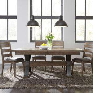 Liberty Furniture - Sonoma Road 5 Piece Trestle Table Set - 473-DR-5TRS