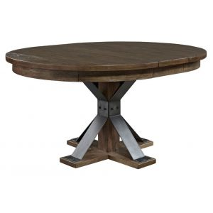 Liberty Furniture - Sonoma Road Oval Pedestal Table - 473-P4860_473-T4860