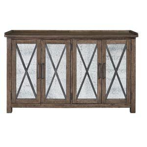 Liberty Furniture - Sonoma Road Sideboard w Reversible Doors - 473-SB6237AM