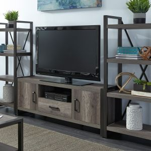 Liberty Furniture - Tanners Creek Entertainment Center with Piers - 686-ENTW-ECP