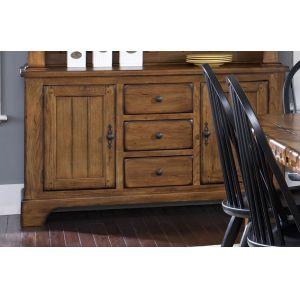 Liberty Furniture - Treasures Buffet In Oak - 17-CB6285