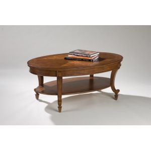 Magnussen - Aidan Wood Oval Cocktail Table - T1052-47