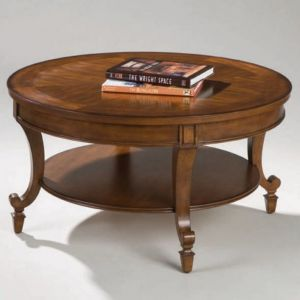 Magnussen - Aidan Wood Round Cocktail Table - T1052-45
