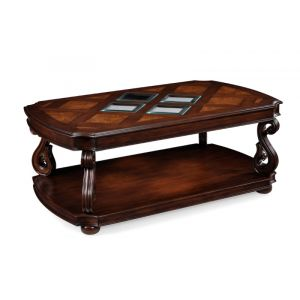 Magnussen - Harcourt Wood Rectangular Cocktail Table (w/ casters) - T1648-43