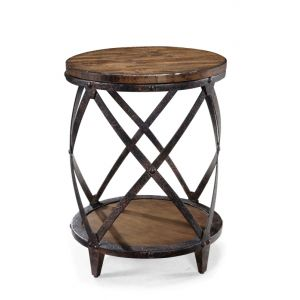 Magnussen - Pinebrook Wood Round Accent Table - T1755-35