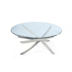Magnussen - Zila Round Cocktail Table - T2050-45T_T2050-45B