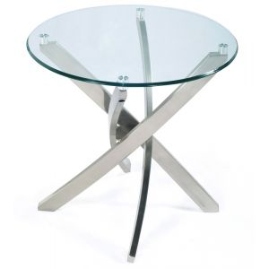 Magnussen - Zila Round End Table - T2050-05T_T2050-05B