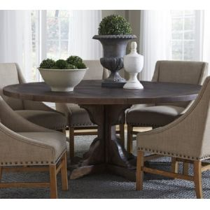 Modus Furniture - Philip Solid Wood Round Dining Table in Burnished Pine - 9KT861R