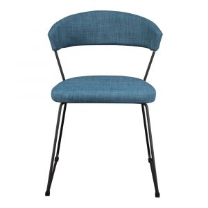 Moe's Home - Adria Dining Chair in Blue (Set of 2) - HK-1010-50