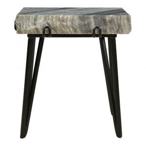 Moe's Home - Alpert Accent Table in Grey - IK-1011-25