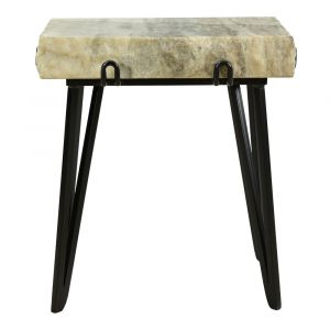 Moe's Home - Alpert Accent Table in Sand - IK-1011-21