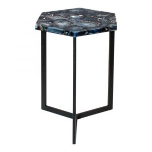 Moe's Home - Hexagon Agate Accent Table - PJ-1005-30