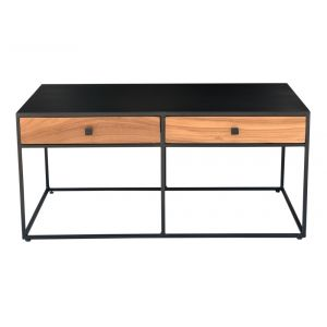 Moe's Home - Mayna Coffee Table in Black Finish - DR-1328-02