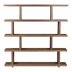 Moe's Home - Miri Shelf Large in Walnut - ER-1073-03