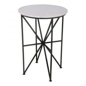 Moe's Home - Quadrant Marble Accent Table - FI-1012-02