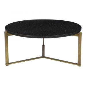 Moe's Home - Syd Coffee Table in Antique Brass - QJ-1020-02