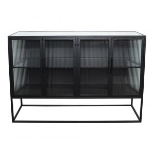 Moe's Home - Tandy Cabinet in Black - KK-1025-02