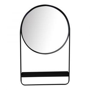 Moe's Home - Watson Mirror in Black - KK-1026-02