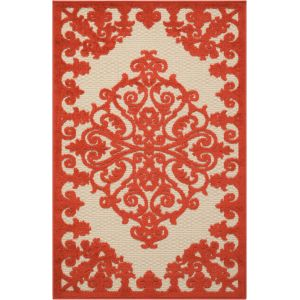 Nourison - Aloha ALH12 Red and White 2'8