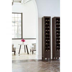 Picket House Furnishings - Blaire Wine Rack in Brown - MAAL300WR