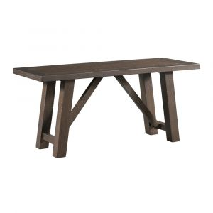 Picket House Furnishings - Carter Dining Bench in Dark Gray - DCS100BN
