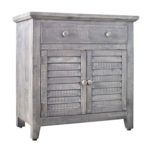 Picket House Furnishings Diego 2 Door Accent Chest In Silver - MARF06CNE
