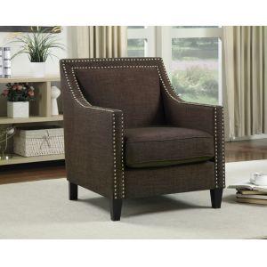 Picket House Furnishings - Emery Chair Heirloom Chocolate - UER081100CA